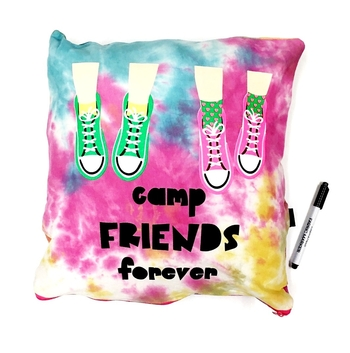 Image Camp Friends Forever Sneaker Love Autograph Pillow