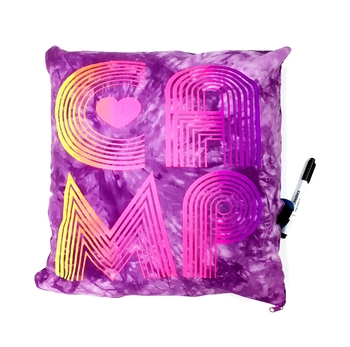 Image Camp Retro Autograph Pillow