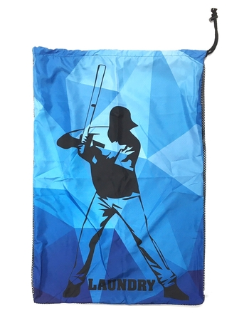 Image Baseball Kaleidoscope Mesh Laundry bag