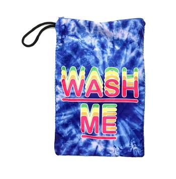Image Blue Tye Dye Mesh Wash Me Sock Bag