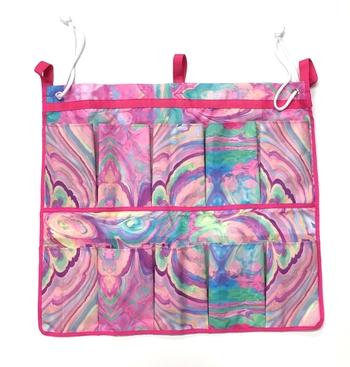 Image Marble Canvas Shoe Bag