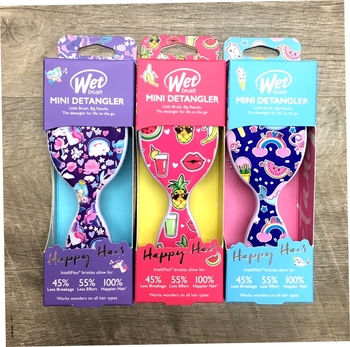 Image Wetbrush Mini Happy