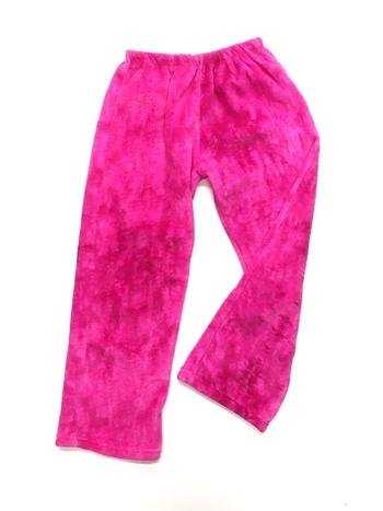 Image Pink Tie Dye Fuzzie Pants