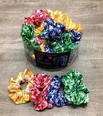 Image Camp Color War Velvet Scrunchies