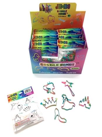 Image Giggle Bands Tie Dye Princess