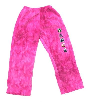 Image Pink Fuzzie Dance Pants