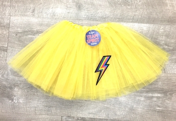 Image Color War Tutu with Lightening Bolt