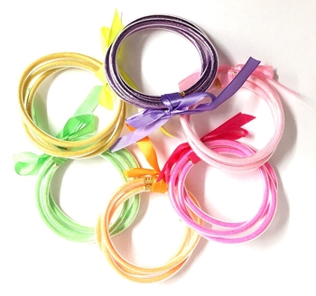 Image Tube Bangles Neon Mix