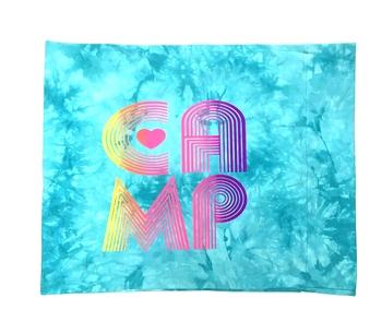 Image Camp Retro Tie Dye Autograph Pillow Case