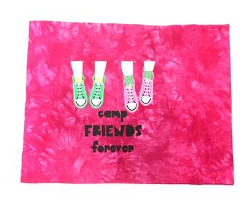 Image Camp Friends Sneaker Love Autograph Pillow Case