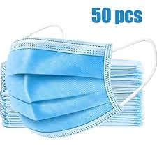 Image Blue Disposable 3 ply Mask