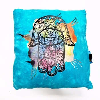 Image Hamsa Watercolor Autograph Pillow