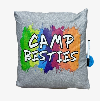 Image Camp Besties Autograph Pillow