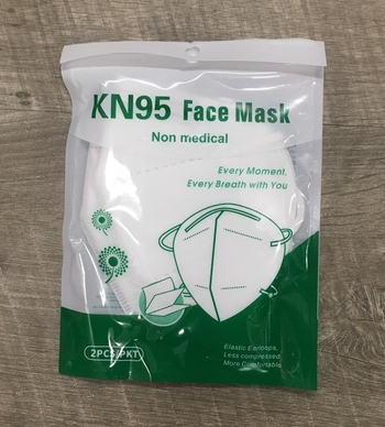 Image KN95 Two Pack Non Medical Mask