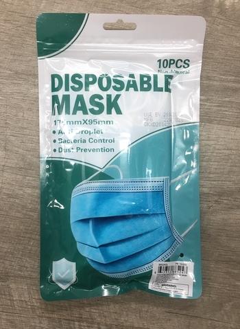 Image Blue Civilian 10 Disposable Mask Pack