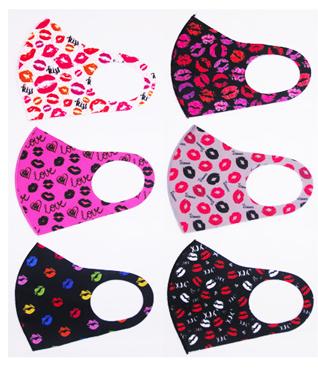 Image Love Spandex Mask