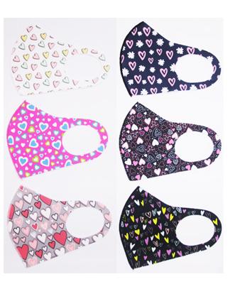 Image Heart Spandex Mask