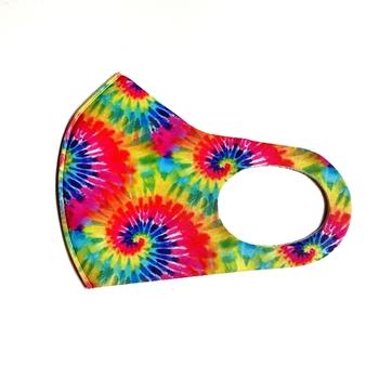 Image Rainbow Swirl Spandex Mask