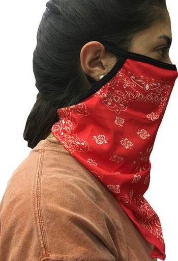 Image Red Bandana Gaiter