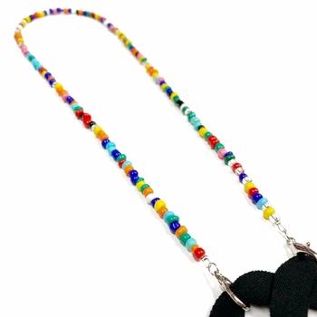 Image Rainbow Bead Mask Chain