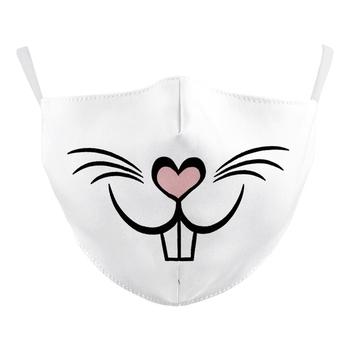 Image White Bunny Mask