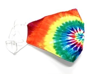 Image Rainbow Swirl Cotton Mask