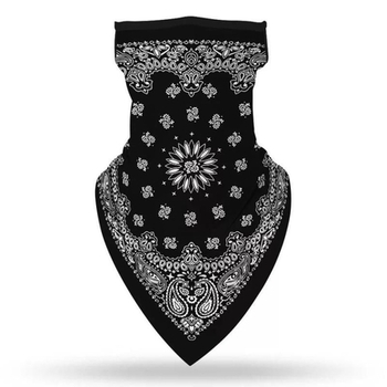 Image Youth Black Bandanna Gaiter