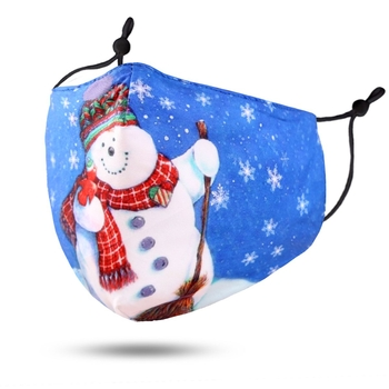 Image Youth Snowman Mask