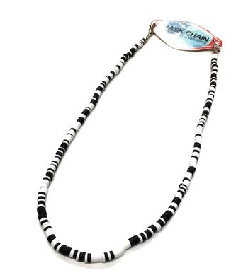 Image Soft Shell Black & White Mask Chain