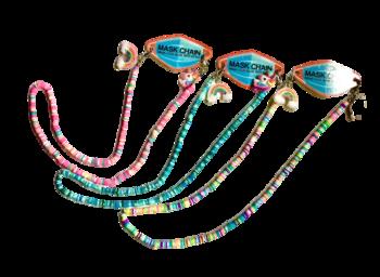 Image Rainbow Shell Unicorn & Rainbow Mask Chain