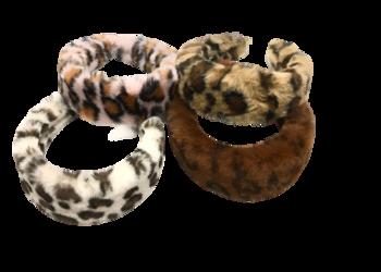Image Leopard Fur Headband