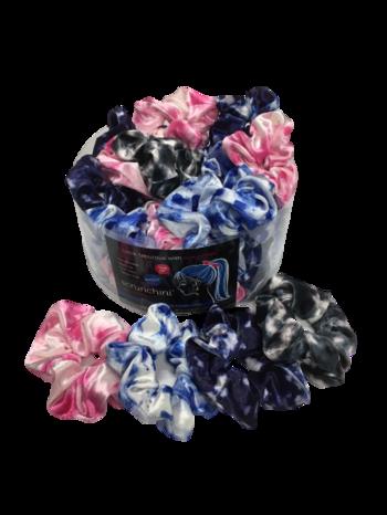 Image Tye Dye Solid Scrunchies