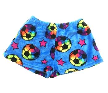 Image Soccer Star Fuzzy Shorts