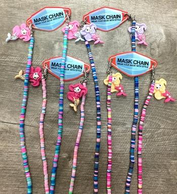Image Soft Shell Mermaid Mask Chain