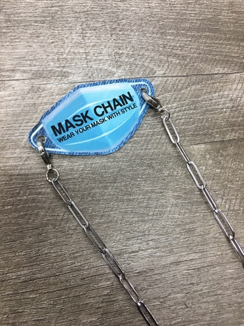 Image Stainless Steel Link Mask Chain