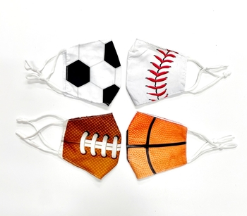 Image Basketball Cotton Adjustable Mask