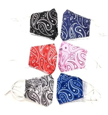 Image Bandana Cotton Adjustable Mask Assorted