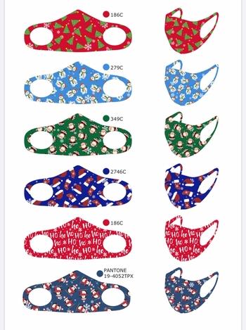 Image Youth Christmas Spandex Masks
