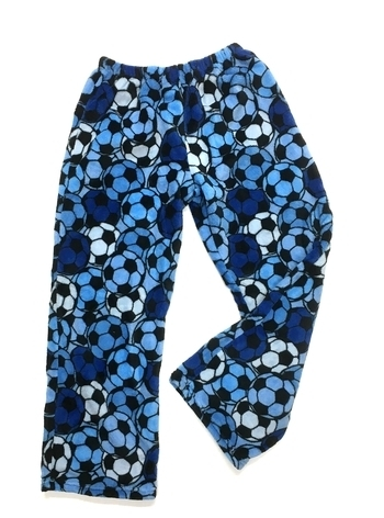 Image Blue Soccer Fuzzy Pant