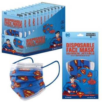 Image Super Man 10 Pack Disposable Mask