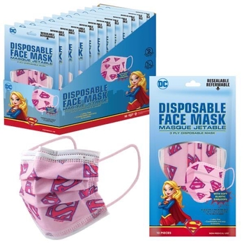 Image Super Girl 10 Pack Disposable Mask