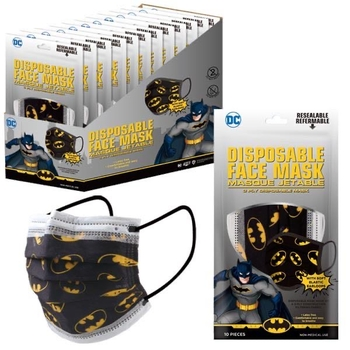 Image Bat Man 10 Pack Disposable Mask