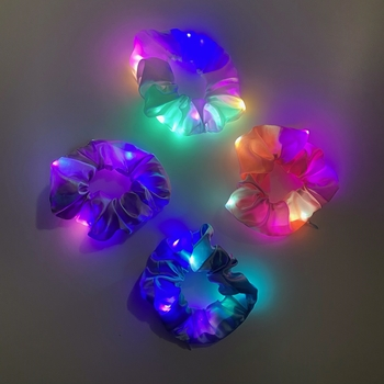 Image Light Up Scrunchies