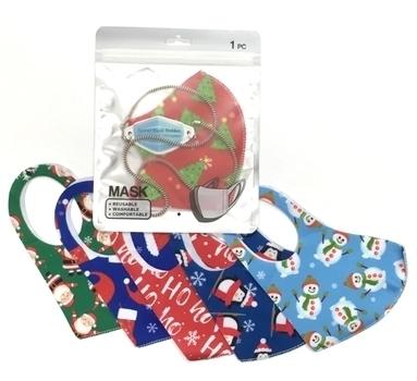 Image Christmas Mask & Mask Chain Set