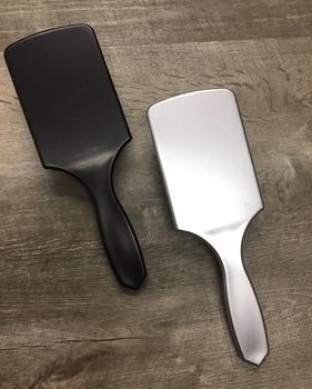Image Black & Silver Paddle Brush