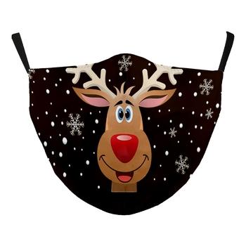 Image Black Mask Reindeer Adjustable