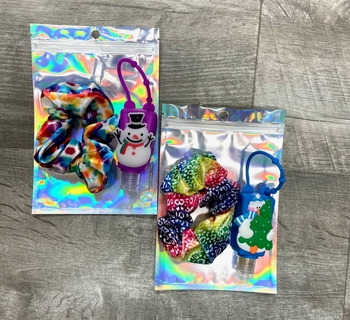 Image Sanitizer And Scrunchie Holiday Set