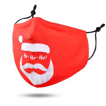Image Youth Christmas Red Ho Ho Mask