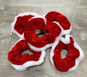 Image Santa Scrunchie