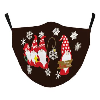 Image Gnomes Christmas Mask